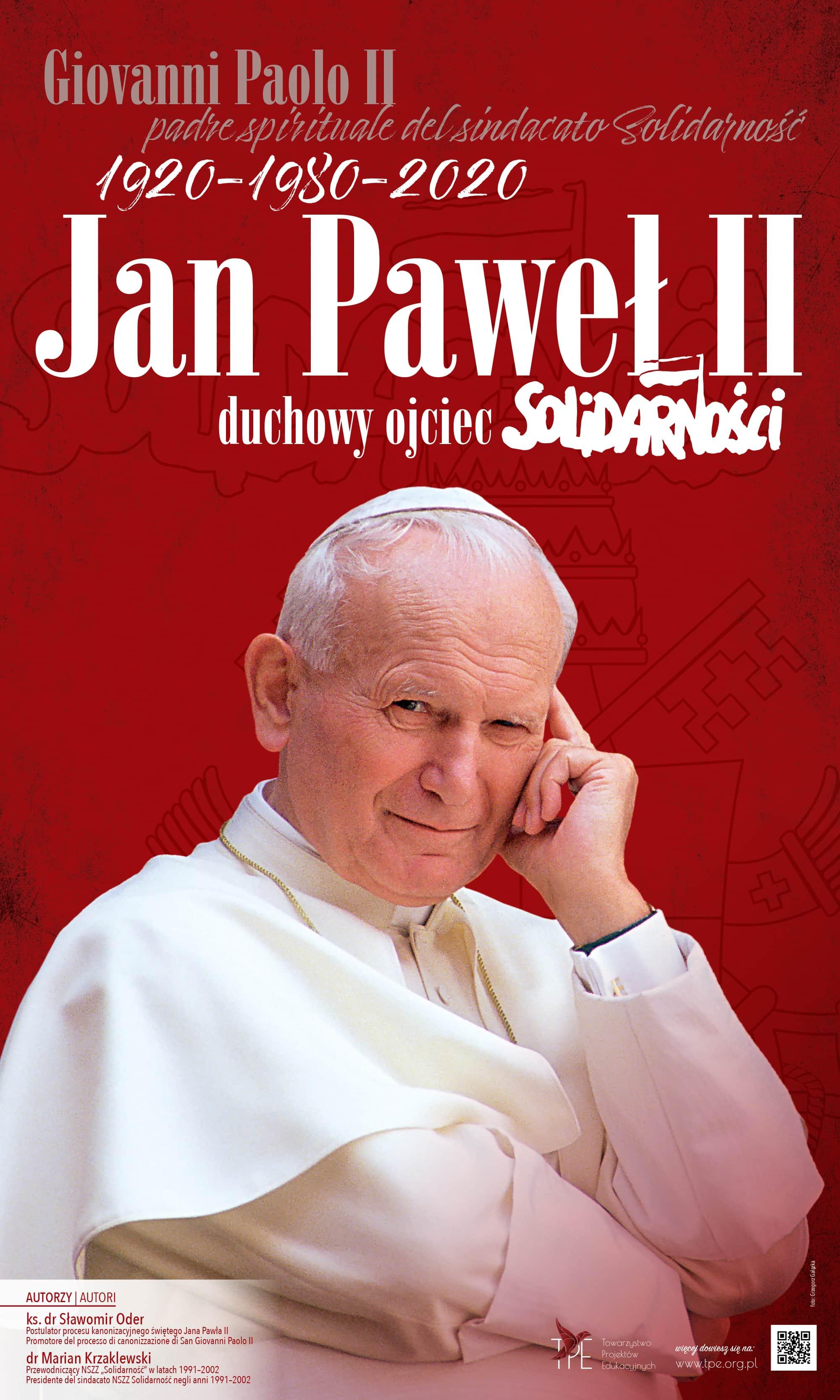 Jan Paweł II duchowy ojciec Solidarności